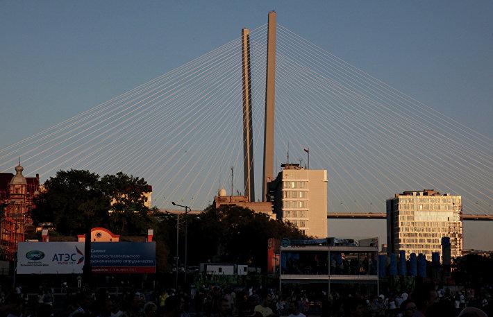 Центральная площадь во Владивостоке
