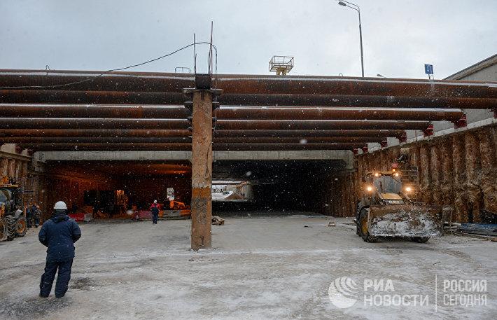 Строительство Северо-Западной хорды