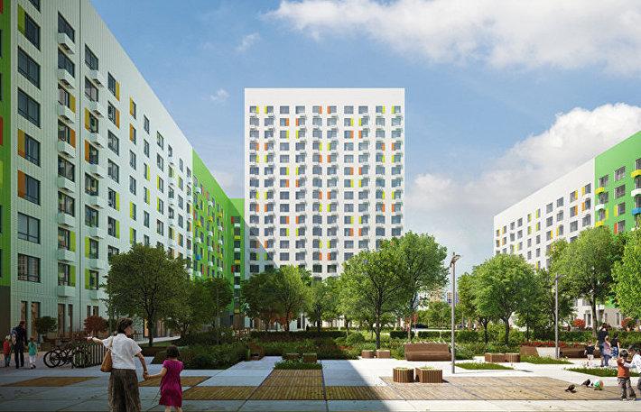 Московский стандарт реновации жилья: власти Москвы рассказали, какие дома придут на смену пятиэтажкам. Внешний вид дома.
