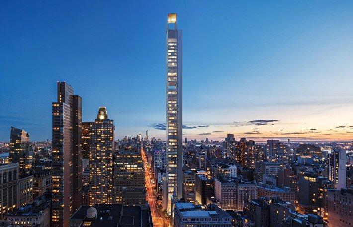 Проект небоскреба архбюро Меганом в США