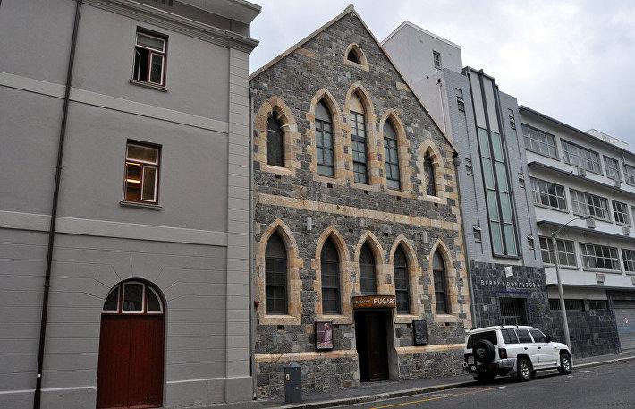 Театр Fugard Theatre в старой церкви в Кейптауне